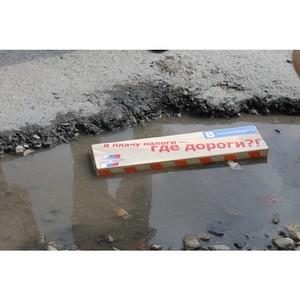 Активисты ОНФ в Курганской области направили властям рейтинг «убитых» дорог в регионе