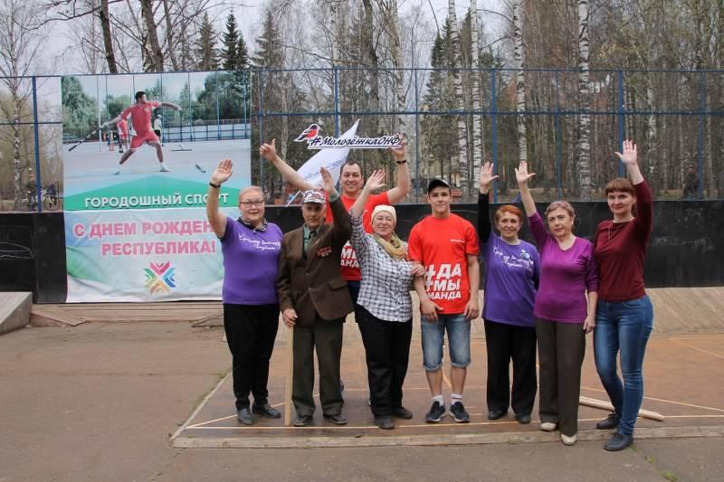 Команда «Молодежки ОНФ» в Коми присоединилась к акции «Спортивные выходные»