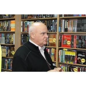 Писатель Александр Лапин дал интервью тульской газете