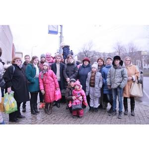 Кинокомпания «Союз Маринс Групп» подарила детям поход в московский Цирк Никулина