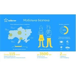 С помощью услуги «Мобильная безопасность» от Киевстар 50% телефонов возвращаются владельцам