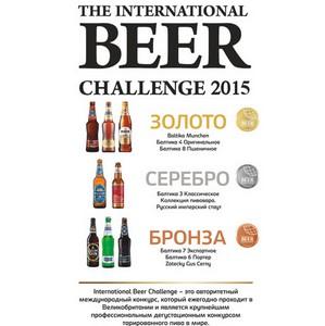 """Восемь сортов пива компании """"Балтика"""" стали обладателями наград International Beer Challenge 2015"""