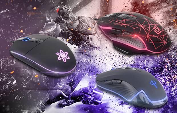 Oklick представляет новые модели игровых мышей