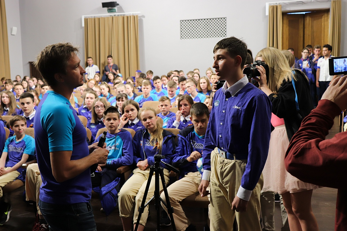 Специальный показ фильма «Рубеж» прошел в международном детском центре «Артек»