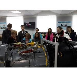 Студенты УГАТУ побывали в цехах Уфимского моторостроительного производственного объединения.