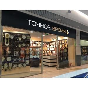 Открытие магазина «Точное время» в ТРЦ «Планета»