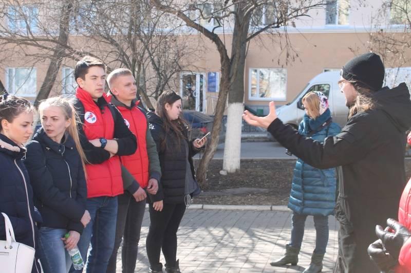 Команда «Молодежки ОНФ» в Мордовии присоединилась к акции «Космос наш»