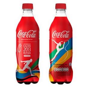 Coca-Cola выпустила лимитированную серию бутылок с cимволикой XXVII Всемирной летней Универсиады 2013