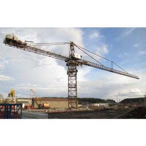 Демонстрация нового крана для строительства АЭС Губернатору ЧО 23.05.17