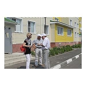 ОНФ выявил недоделки в домах для переселенцев из аварийного жилья в Старом Осколе и Губкине