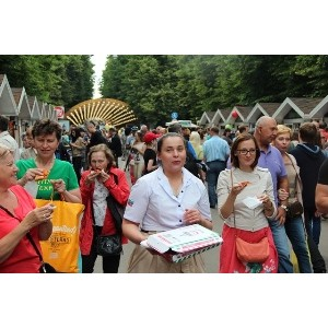 Бренды «Сбарро» и YamKee накормили москвичей и гостей столицы