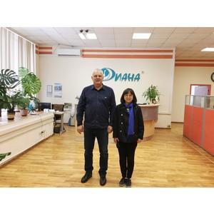 Директор крупнейшей в мире химчистки посетила Москву