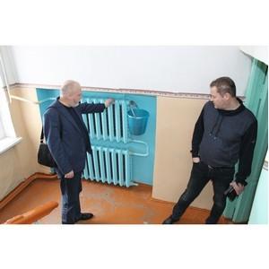 Воронежские активисты ОНФ добились ремонта котельной Лосевской школы