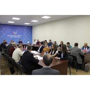 ѕредставители чел¤бинского штаба ќЌ' подвели итоги работы в 2017 году