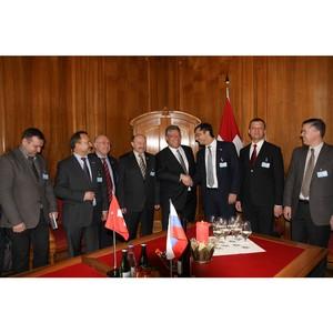 Господин Штайерт избран сопредседателем парламентской Группы дружбы «Швейцария-Россия»