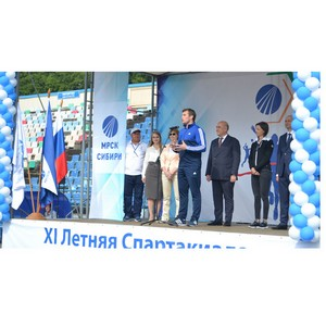ХI летняя Cпартакиада МРСК Сибири стартовала в Кузбассе