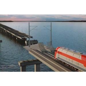 Прокладка кабеля при строительстве Керченского моста