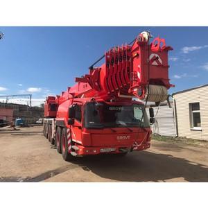 Услуги грузоподъемной техники до 500 тонн