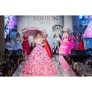 Коллекцию нарядов русской Барби показали на Московской неделе моды