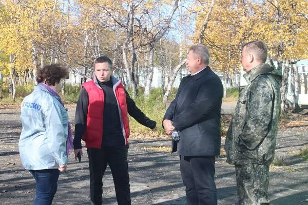 Камчатские активисты ОНФ проверили ход строительства детского центра имени Ю.А. Гагарина