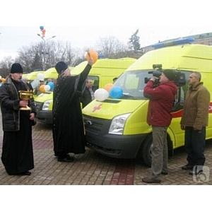 23 реанимобиля для Белгородской области
