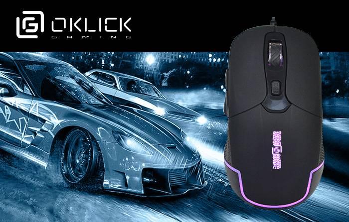 Новая игровая мышь Oklick 965G Racer: точность и скорость управления