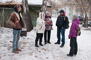 Челябинские активисты ОНФ провели встречи с жителями Озерска по вопросам благоустройства дворов
