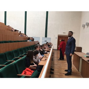 В Президентской Академии прошли интерактивные занятия для школьников на немецком языке