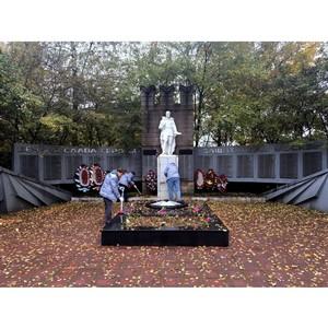 Московский штаб ОНФ провел трудовой десант в рамках проекта «Память народа»