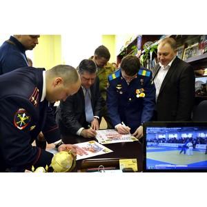 Зеленоградцы отметили предстоящий День Защитника Отечества Всероссийским турниром по Самбо