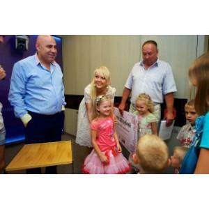 Московская многодетная семья получила миллион рублей от благотворительного фонда