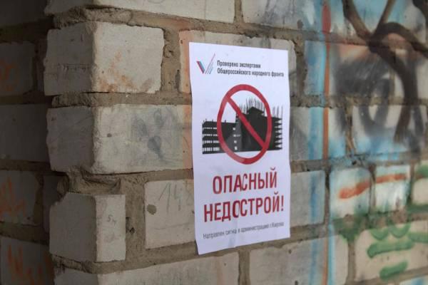 Кировские активисты ОНФ проверяют опасные недостроенные здания