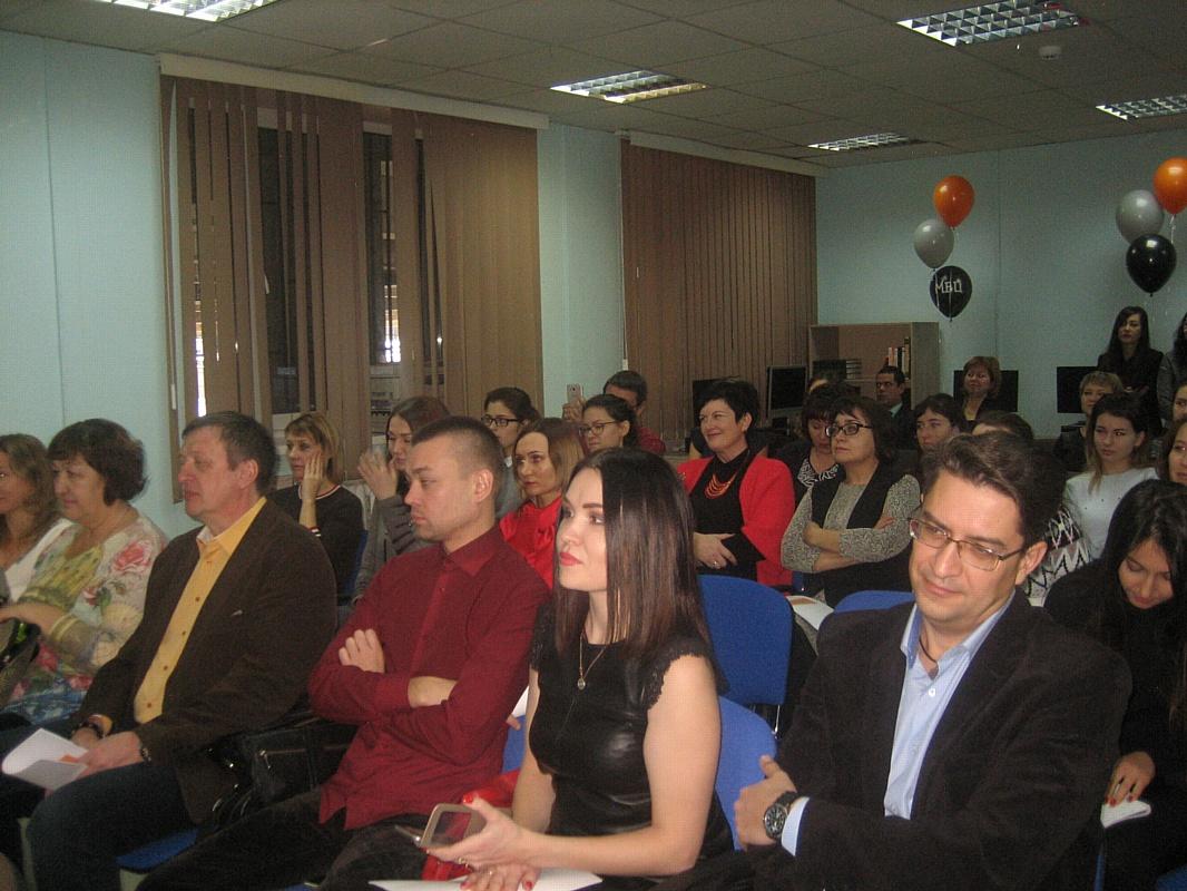 Виктория Бессонова приняла участие в открытии Молодежного бизнес-центра