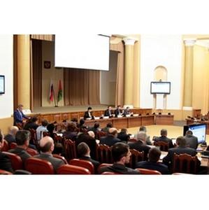 Руководители «Липецкэнерго» приняли участие в совещании по итогам деятельности ТЭК в 2015 году
