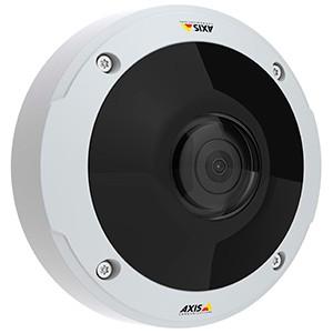 Новая 6 MP панорамная видеокамера производства AXIS с PoE