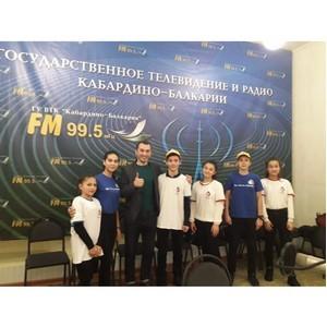 «Молодежка ОНФ» познакомила школьников Кабардино-Балкарии с работой региональных СМИ