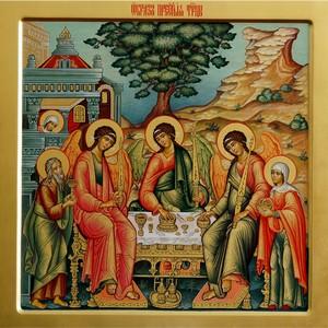 Икона Святой Троицы для митрополита Илариона