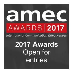 Стартовал приём заявок на AMEC Awards 2017