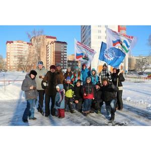 В Уфе реализовывается проект «Импровизированные ледовые катки, хоккейные стационарные коробки»