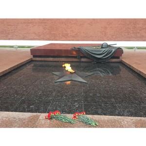 Активисты ОНФ проверили состояние Вечных огней и Огней памяти в Москве