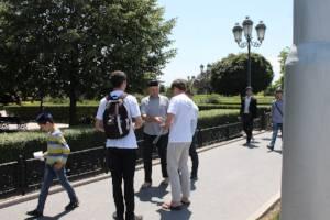 Активисты ОНФ информируют жителей Чечни о приоритетных проектах Народного фронта