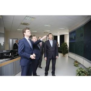 Министр энергетики РФ Александр Новак посетил филиал ОАО «МРСК Центра» - «Белгородэнерго»