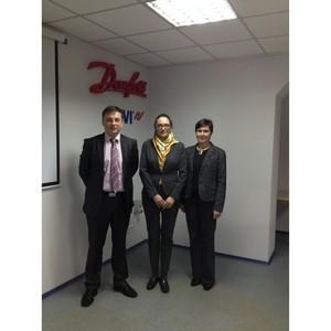 Украинский офис Danfoss посетила посол Королевства Дании