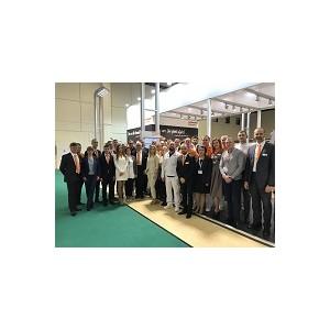 Стенд Хандтманн был открыт со всех сторон для посетителей выставки Агропродмаш-2018