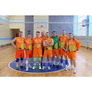 Сборная «Липецкцемента» – победитель соревнований по волейболу