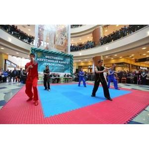 Титулованные спортсмены России и СНГ встретились в «Ауре» 23 февраля