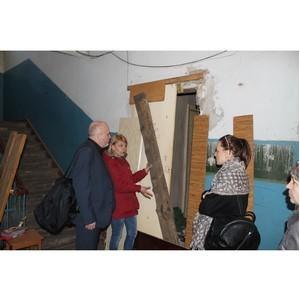 ОНФ обратился в администрацию Воронежа с просьбой решить проблему жителей аварийных домов