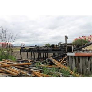 Активисты ОНФ добиваются консервации заброшенного склада с горючими материалами в Нарьян-Маре