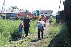 Благодаря проекту ОНФ «Генеральная уборка» ликвидированы стихийные свалки в жилом секторе Кызыла