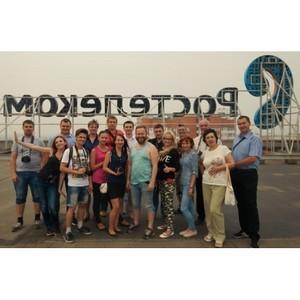 Оренбургские блогеры изучили историю развития телеком услуг «Ростелекома»